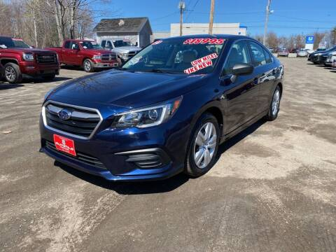2018 Subaru Legacy for sale at AutoMile Motors in Saco ME