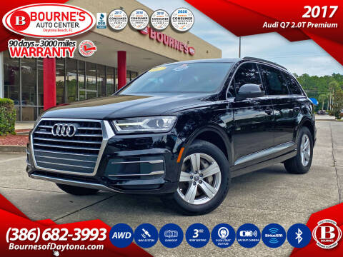 2017 Audi Q7 for sale at Bourne's Auto Center in Daytona Beach FL