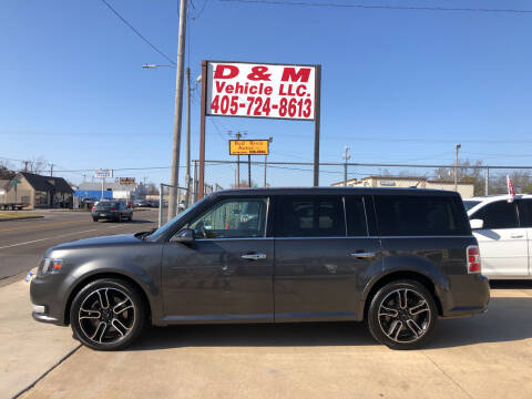 2015 Ford Flex for sale at D & M Vehicle LLC in Oklahoma City OK