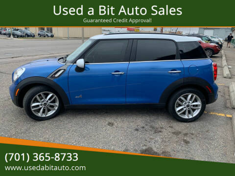 2013 MINI Countryman for sale at Used a Bit Auto Sales in Fargo ND