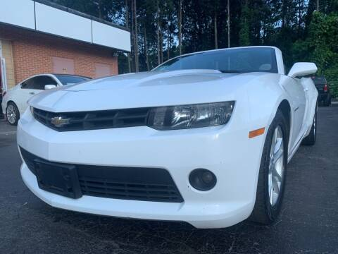 2015 Chevrolet Camaro for sale at Magic Motors Inc. in Snellville GA