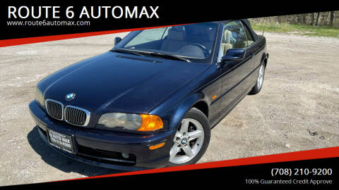2002 BMW 3 Series for sale at ROUTE 6 AUTOMAX in Markham IL