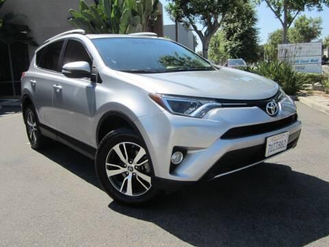 2016 Toyota RAV4 for sale at ORANGE COUNTY AUTO WHOLESALE in Irvine CA
