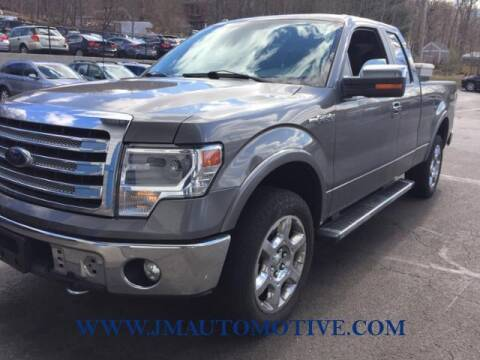 2014 Ford F-150 for sale at J & M Automotive in Naugatuck CT