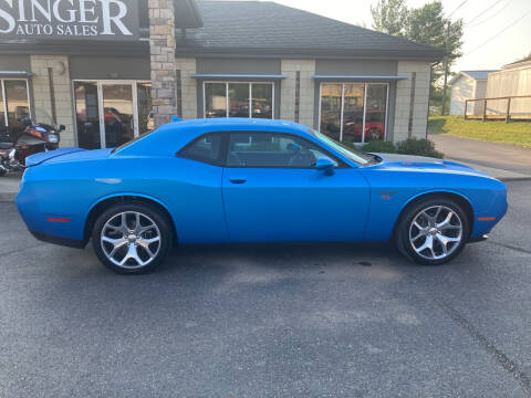 2016 Dodge Challenger for sale at Singer Auto Sales in Caldwell OH