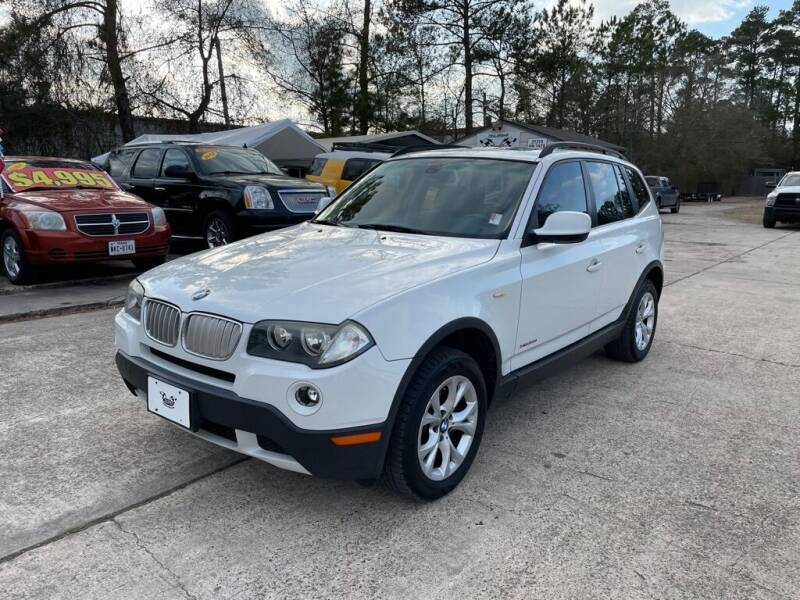 2010 BMW X3 for sale at AUTO WOODLANDS in Magnolia TX