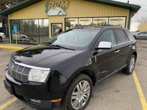 2009 Lincoln MKX for sale at RPM AUTO SALES in Lansing MI