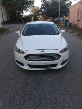 2013 Ford Fusion for sale at Horizon Auto Sales in Raleigh NC
