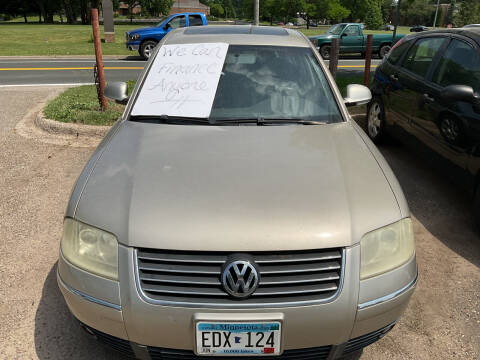 2005 Volkswagen Passat for sale at Continental Auto Sales in White Bear Lake MN