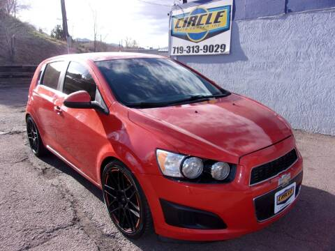 2012 Chevrolet Sonic for sale at Circle Auto Center in Colorado Springs CO