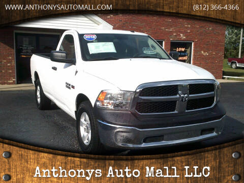 2018 RAM Ram Pickup 1500 for sale at Anthonys Auto Mall LLC in New Salisbury IN