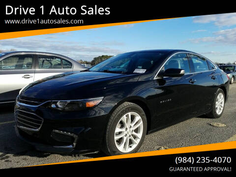 2017 Chevrolet Malibu for sale at Drive 1 Auto Sales in Wake Forest NC
