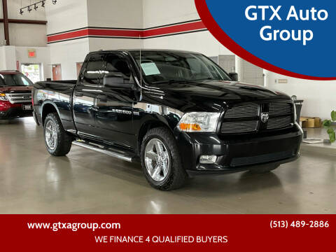 2012 RAM Ram Pickup 1500 for sale at GTX Auto Group in West Chester OH