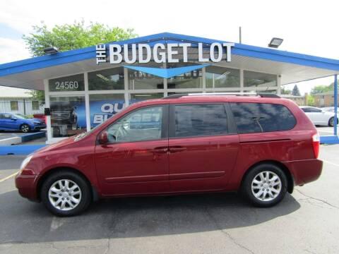 2009 Kia Sedona for sale at THE BUDGET LOT in Detroit MI
