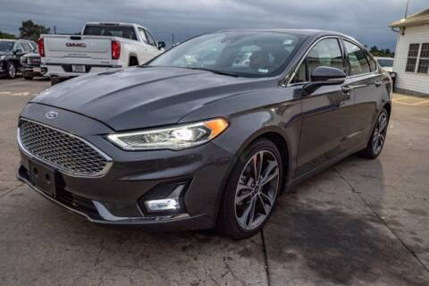 2020 Ford Fusion for sale at TRAVERS GMT AUTO SALES - Traver GMT Auto Sales West in O Fallon MO