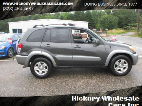 2003 Toyota RAV4 for sale at Hickory Wholesale Cars Inc in Newton NC