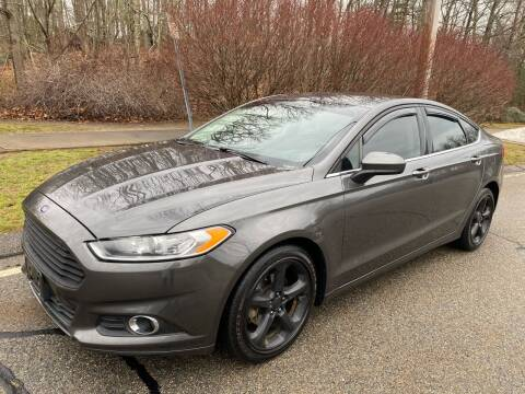 2016 Ford Fusion for sale at Padula Auto Sales in Braintree MA