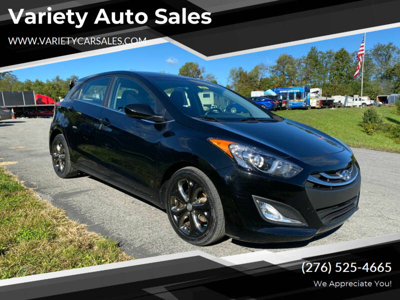 2013 Hyundai Elantra GT for sale at Variety Auto Sales in Abingdon VA