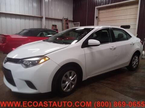 2016 Toyota Corolla for sale at East Coast Auto Source Inc. in Bedford VA