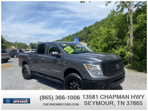 2018 Nissan Titan XD for sale at Union Motors in Seymour TN