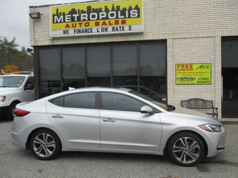 2017 Hyundai Elantra for sale at Metropolis Auto Sales in Pelham NH