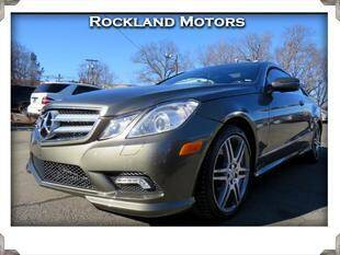 2010 Mercedes-Benz E-Class for sale at Rockland Automall - Rockland Motors in West Nyack NY