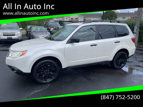 2012 Subaru Forester for sale at All In Auto Inc in Palatine IL