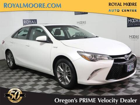 2016 Toyota Camry Hybrid for sale at Royal Moore Custom Finance in Hillsboro OR