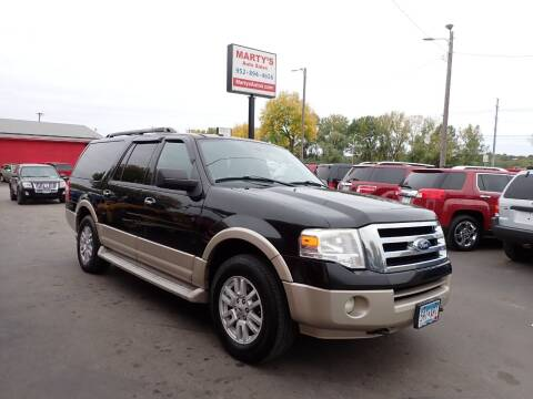 2010 Ford Expedition EL for sale at Marty's Auto Sales in Savage MN
