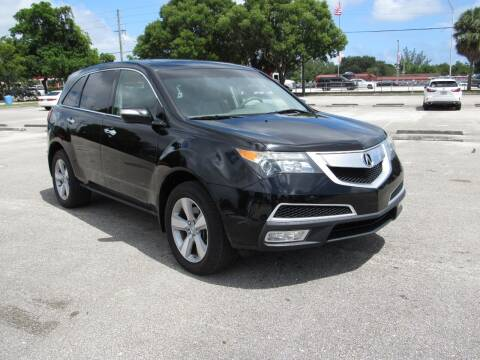 2011 Acura MDX for sale at United Auto Center in Davie FL