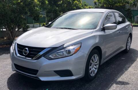 2017 Nissan Altima for sale at Meru Motors in Hollywood FL