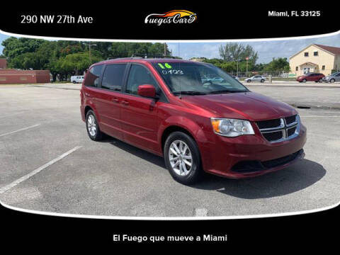 2016 Dodge Grand Caravan for sale at Fuego's Cars in Miami FL