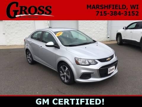 2019 Chevrolet Sonic for sale at Gross Motors of Marshfield in Marshfield WI