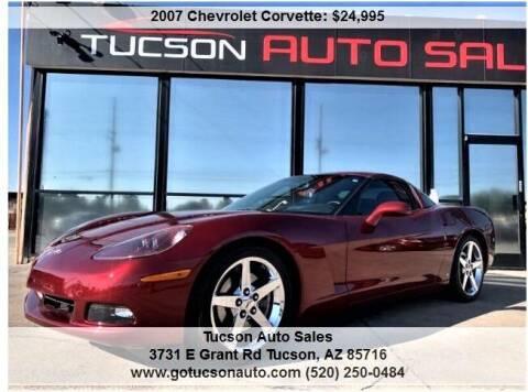 2007 Chevrolet Corvette for sale at Tucson Auto Sales in Tucson AZ