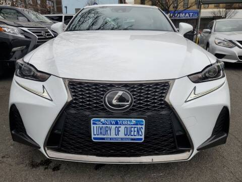 2018 Lexus IS 300 for sale at LUXURY OF QUEENS,INC in Long Island City NY