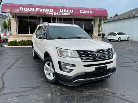 2016 Ford Explorer for sale at Boulevard Used Cars in Grand Haven MI