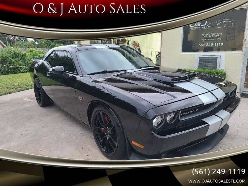 2012 Dodge Challenger for sale at O & J Auto Sales in Royal Palm Beach FL