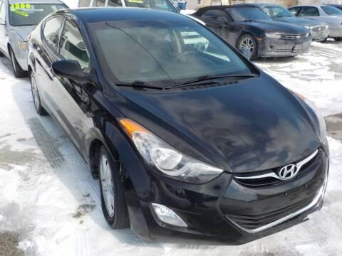 2013 Hyundai Elantra for sale at SEBASTIAN AUTO SALES INC. in Terre Haute IN
