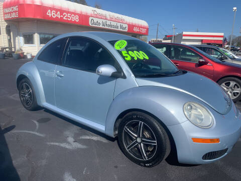 2010 Volkswagen New Beetle for sale at Doug White's Auto Wholesale Mart in Newton NC