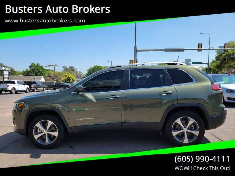 2019 Jeep Cherokee for sale at Busters Auto Brokers in Mitchell SD