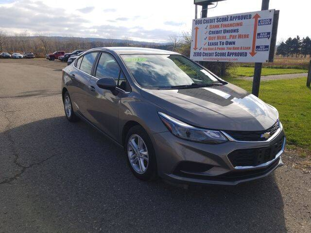 2017 Chevrolet Cruze for sale at Sensible Sales & Leasing in Fredonia NY