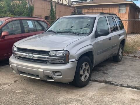 2005 Chevrolet TrailBlazer for sale at FREDY CARS FOR LESS in Houston TX