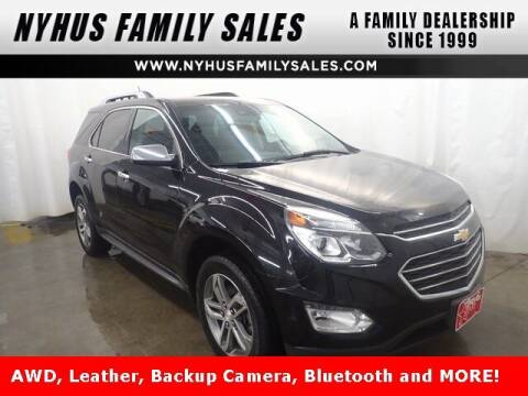 2016 Chevrolet Equinox for sale at Nyhus Family Sales in Perham MN
