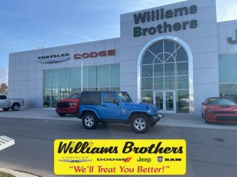 2015 Jeep Wrangler for sale at Williams Brothers - Pre-Owned Monroe in Monroe MI