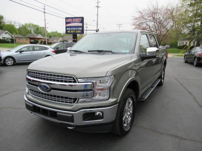 2019 Ford F-150 for sale at Lake County Auto Sales in Painesville OH