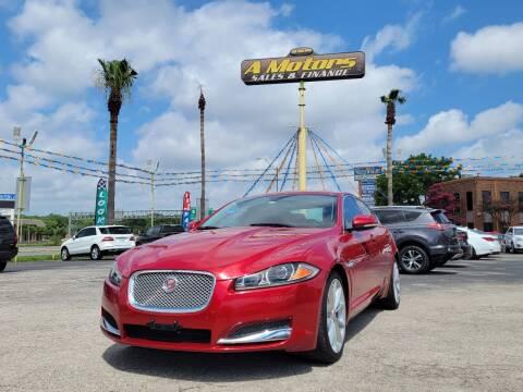 2014 Jaguar XF for sale at A MOTORS SALES AND FINANCE - 6226 San Pedro Lot in San Antonio TX