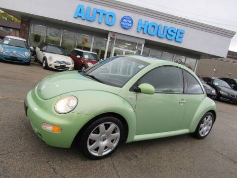2002 Volkswagen New Beetle for sale at Auto House Motors in Downers Grove IL