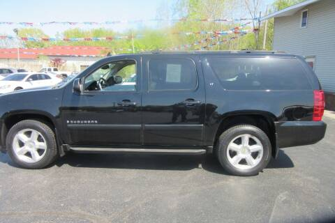 2007 Chevrolet Suburban for sale at Burgess Motors Inc in Michigan City IN