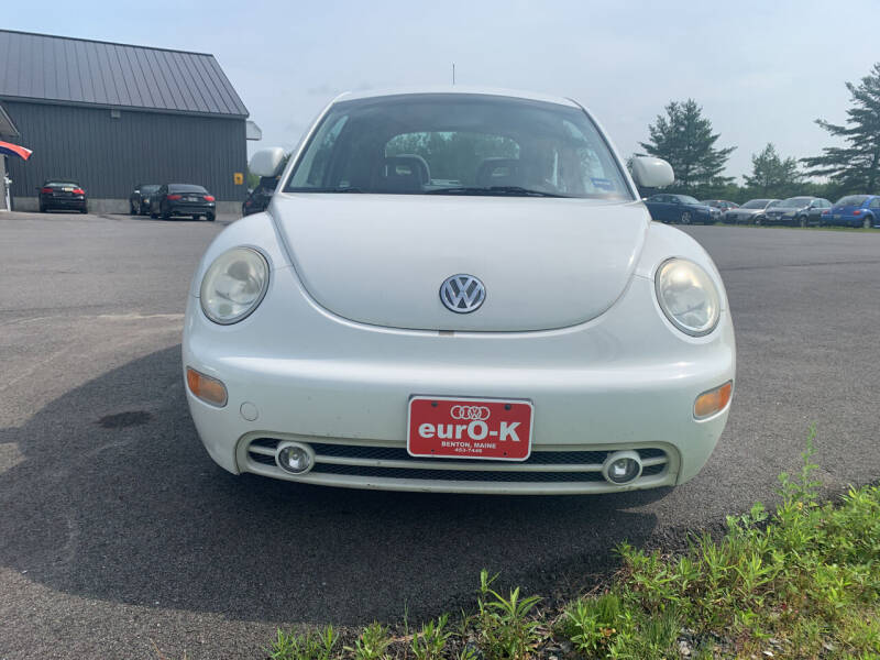 1998 Volkswagen New Beetle for sale at eurO-K in Benton ME