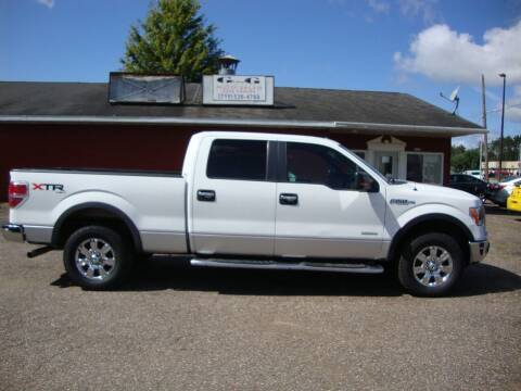 2011 Ford F-150 for sale at G and G AUTO SALES in Merrill WI